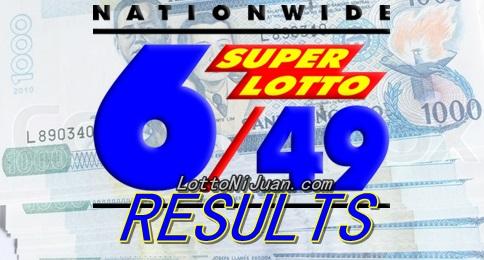Thursday Super Lotto Result