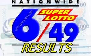 Lotto 649 latest result