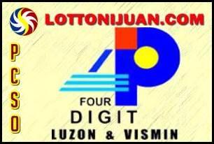 4 Digit Lotto Result Monday November 26 2018 - Lotto Ni Juan