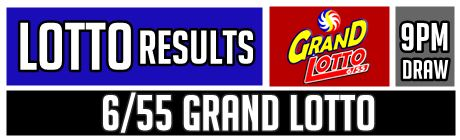 Grand Lotto Result Today